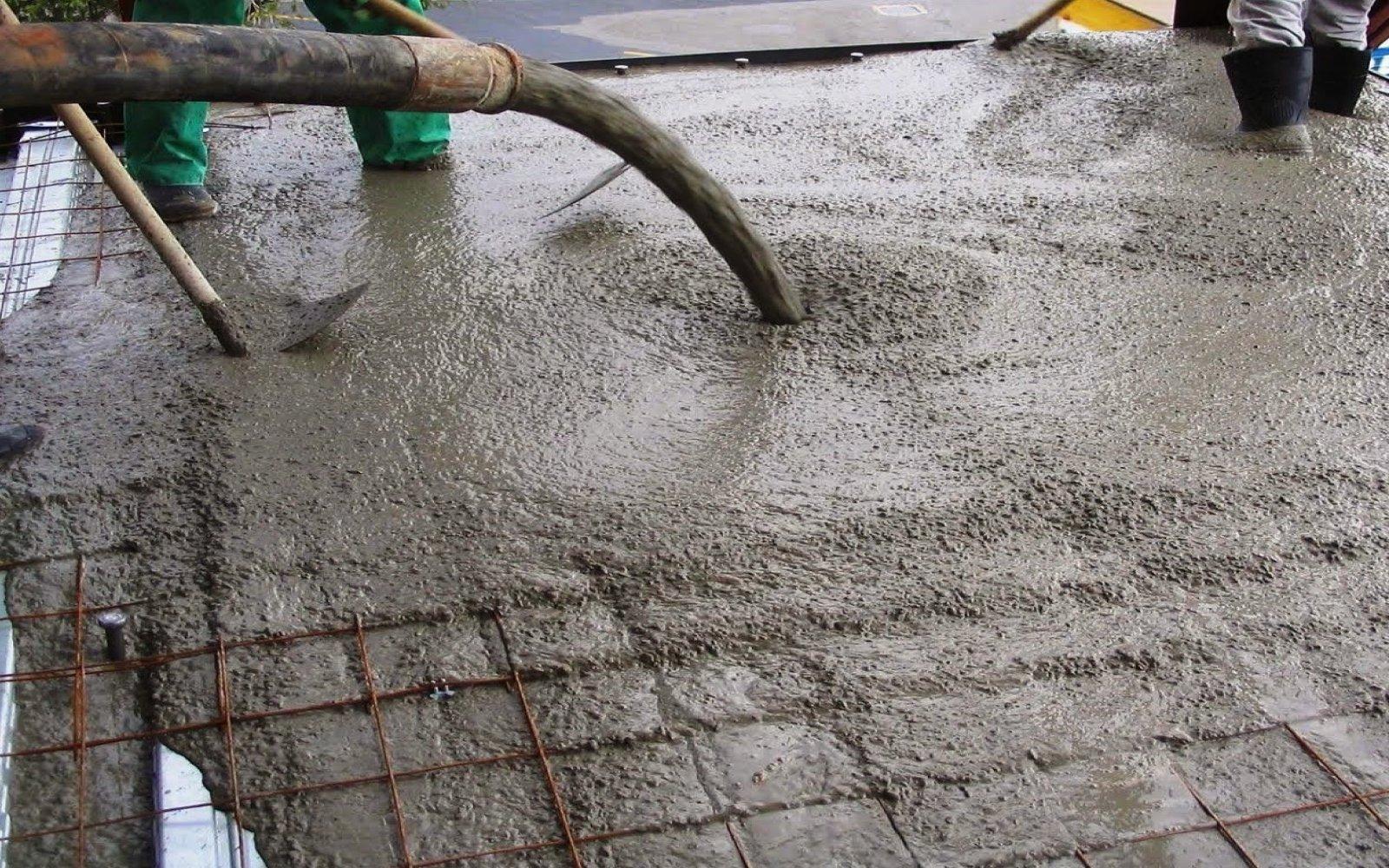 Un material similar al concreto premezclado