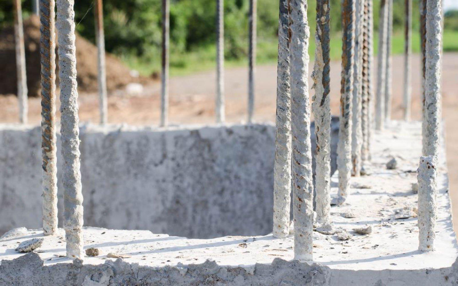 Acero de refuerzo en las obras de construcción